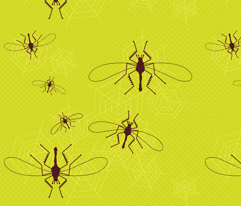 BigBugs fabric by tamtamdesignstlv on Spoonflower - custom fabric