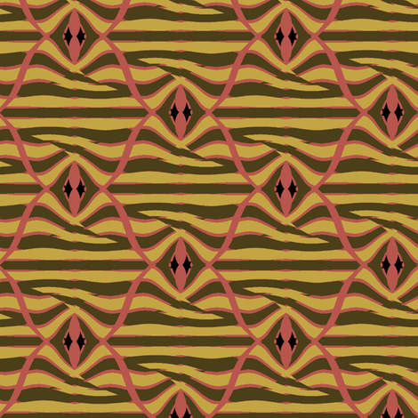 Encanto (Olive) fabric by david_kent_collections on Spoonflower - custom fabric