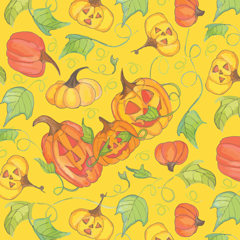 Kin Patch fabric by kari_d on Spoonflower - custom fabric