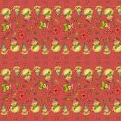 R001_xmas_two_chicks_fabric_v3_red_shop_thumb