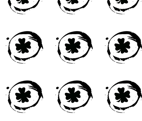 shamrockdecal fabric by kali_d on Spoonflower - custom fabric