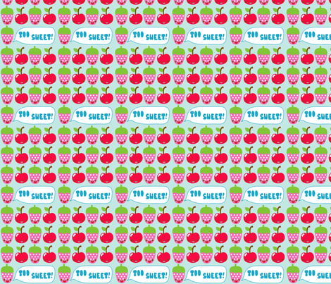 Too Sweet fabric by katiegariepy on Spoonflower - custom fabric