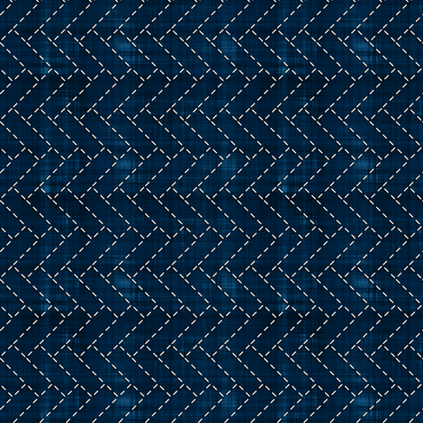 Sashiko: Higaki - Cypress fence fabric by bonnie_phantasm on Spoonflower - custom fabric