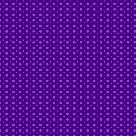 Halloween Polka Dots 1 fabric by holladay on Spoonflower - custom fabric
