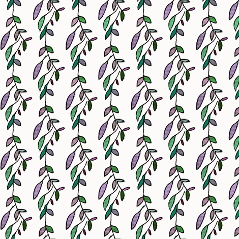 Simple Vine fabric by boris_thumbkin on Spoonflower - custom fabric