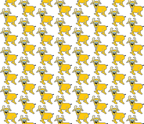 goat_template_1 fabric by g-mana on Spoonflower - custom fabric