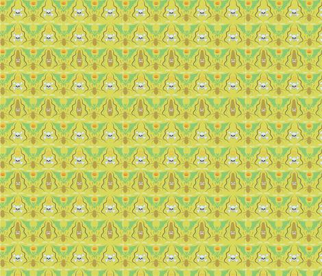 creepycrawliesdamask fabric by cherished_dreams on Spoonflower - custom fabric