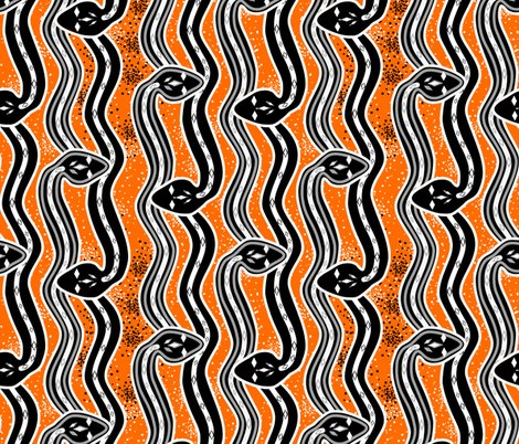 Rrsnakes-remake-2c-b_w-on-orange-v2c-black-dots_shop_preview