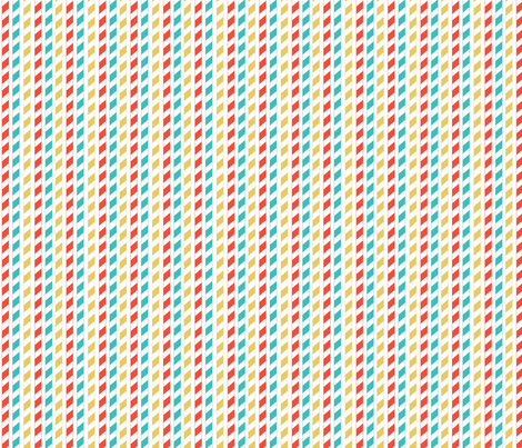Party straws fabric by cjldesigns on Spoonflower - custom fabric