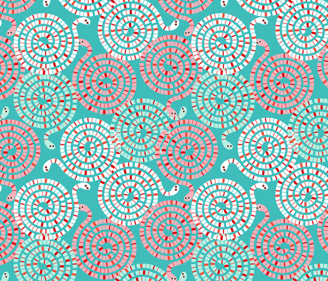 Squirmy worms fabric by cjldesigns on Spoonflower - custom fabric