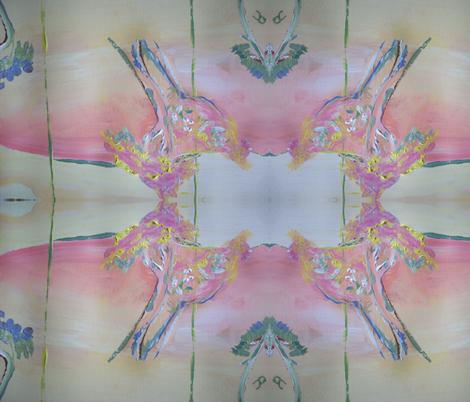 Pink and pretty fabric by myartself on Spoonflower - custom fabric