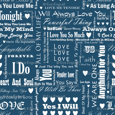 Rrlove_songs_white_text_blue_3_s_preview