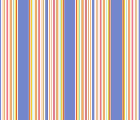 Kids' stripes for toy building blocks on clear fabric by eyecontact on Spoonflower - custom fabric