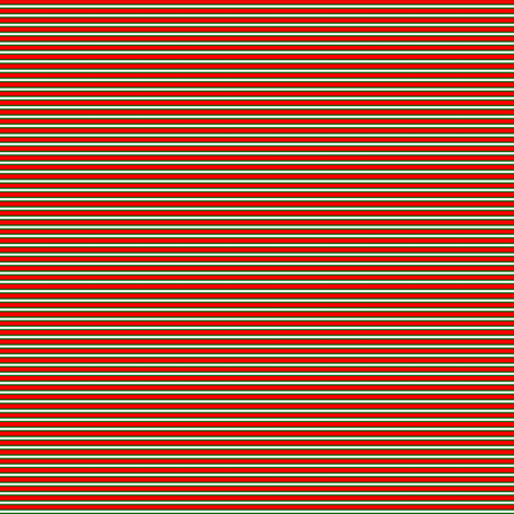 Christmas Candy Yo-Yo-Stripe_E fabric by pd_frasure on Spoonflower - custom fabric