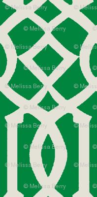 Imperial Trellis-Kelly Green