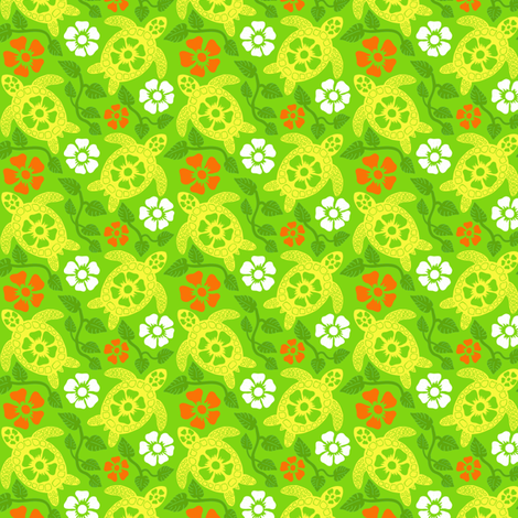 turtle1-01 fabric by coloroncloth on Spoonflower - custom fabric