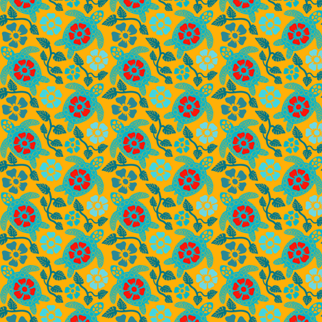 turtle2-01 fabric by coloroncloth on Spoonflower - custom fabric