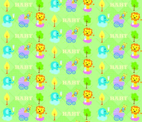 BABY fabric by lauralvarez on Spoonflower - custom fabric
