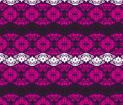 Black Chandelier coordinate fabric by lauralvarez on Spoonflower - custom fabric