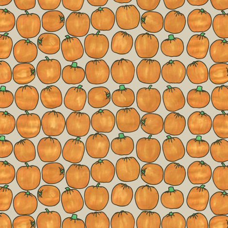 My Pumpkin Patch fabric by tullia on Spoonflower - custom fabric