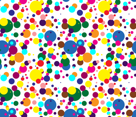 Dottie fabric by lpjones on Spoonflower - custom fabric