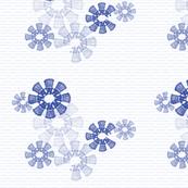 Snowflake Daleks -  Blue
