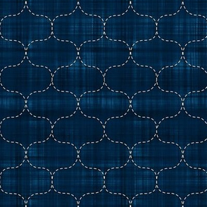 Sashiko: Hoshi-Ami - Fish Net