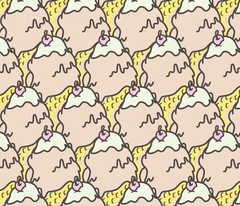 melt with you fabric by annaboo on Spoonflower - custom fabric