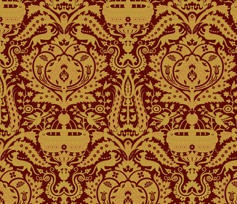 Serpentine 901c fabric by muhlenkott on Spoonflower - custom fabric