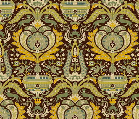 Serpentine 901a fabric by muhlenkott on Spoonflower - custom fabric