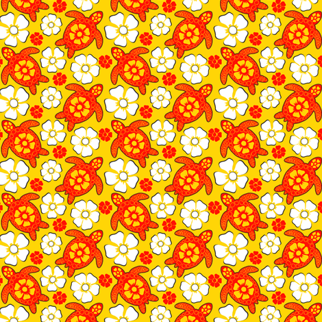 turtle28-01 fabric by coloroncloth on Spoonflower - custom fabric