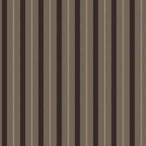 Klingon Stripe - Brown, Small
