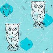 Owls Blue