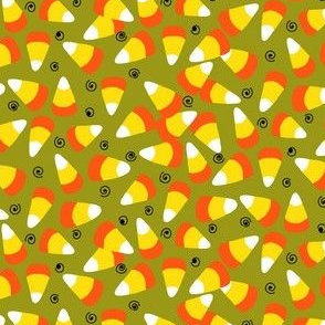 candy corn light olive