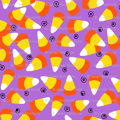 candy corn light purple