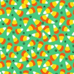 candy corn green