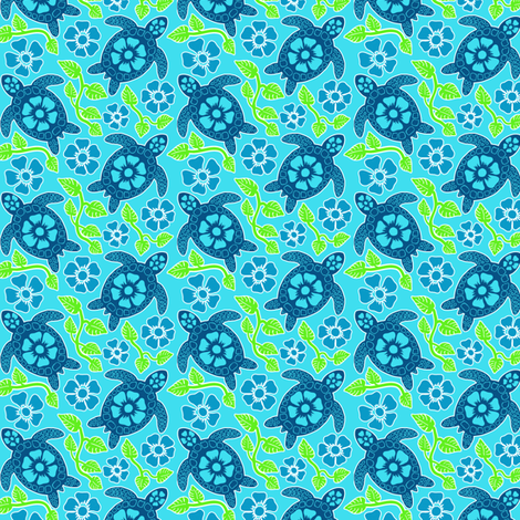 turtle30d-01 fabric by coloroncloth on Spoonflower - custom fabric