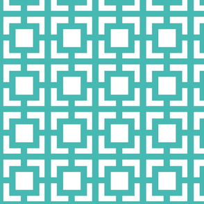 Moroccan_square Turquoise