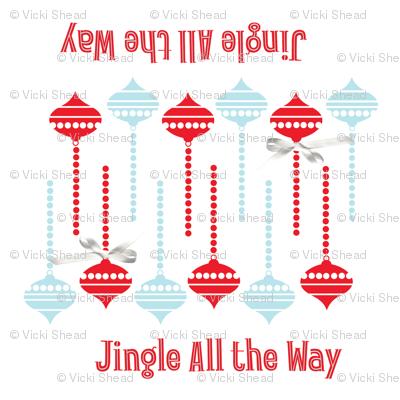 JingleAllTheWayNapkin