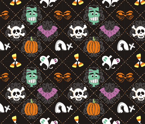 Scary Plaid fabric by lauralvarez on Spoonflower - custom fabric