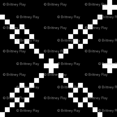 Black Checker Pattern