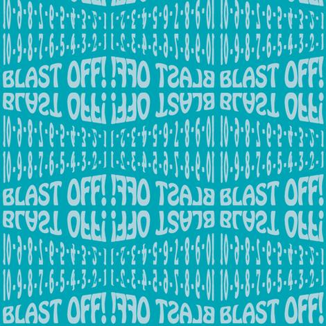 Blast Off fabric by eleasha on Spoonflower - custom fabric