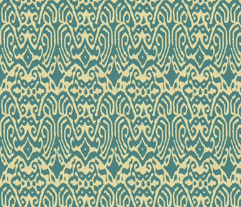 ikattealtexture fabric by ragan on Spoonflower - custom fabric