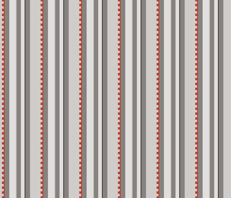 Vertical Stripes fabric by ilikemeat on Spoonflower - custom fabric