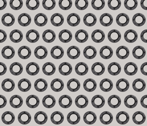 Infinite Rings fabric by ilikemeat on Spoonflower - custom fabric
