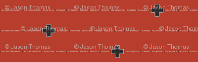 8bit Labels Red