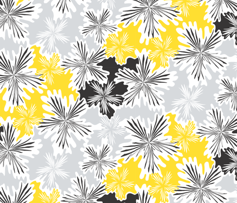 Whisper_Winds_Bumble_Bee_Whisper_Winds fabric by izeondesign on Spoonflower - custom fabric