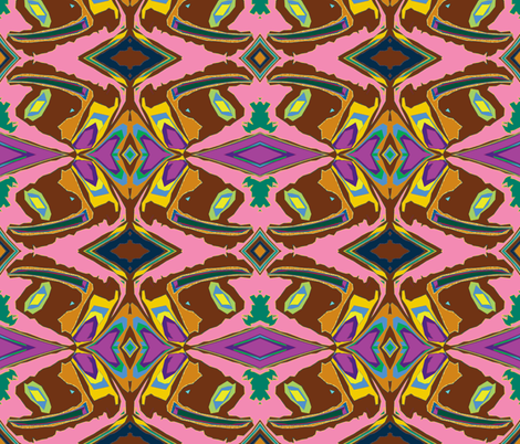 Barbie's Totem fabric by susaninparis on Spoonflower - custom fabric