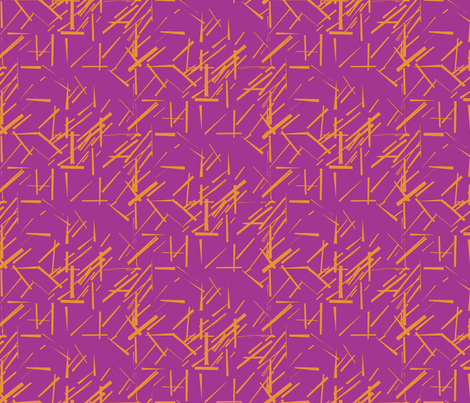 MODERNITY_Solstice_Konstructivist_orange_magenta fabric by izeondesign on Spoonflower - custom fabric