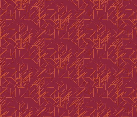 MODERNITY_Solstice_Konstructivist_orange_red fabric by izeondesign on Spoonflower - custom fabric